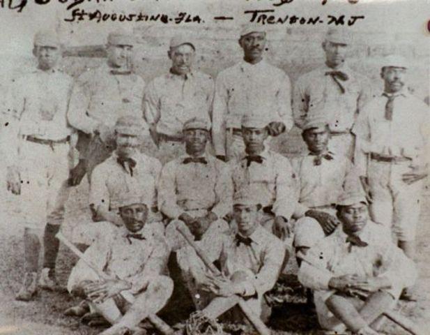 First all black baseball team