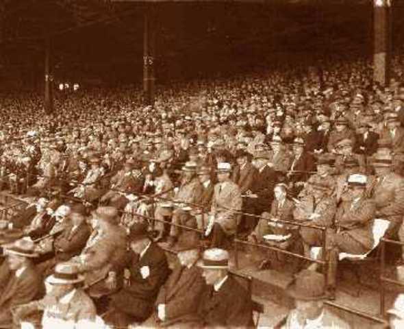 Great Depression hits baseball