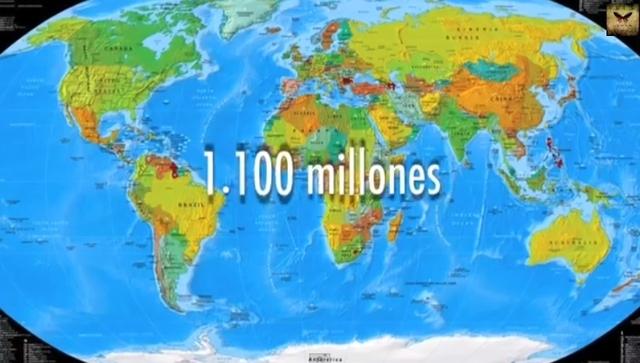 Internet 1.100 millones de usuarios