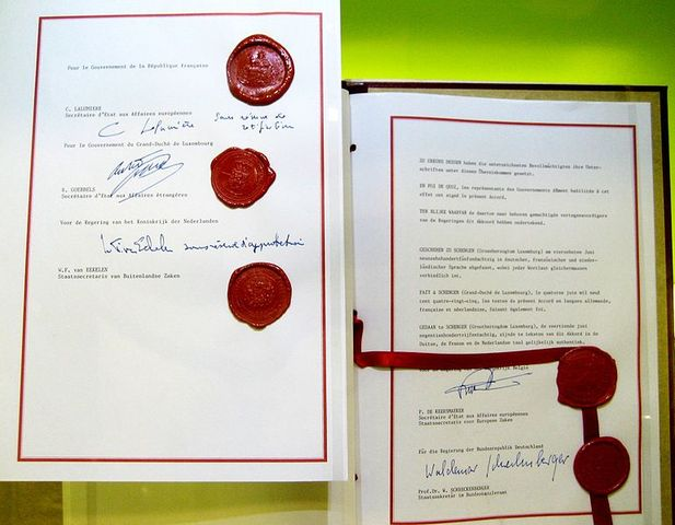 Acuerdos de Schengen(español)