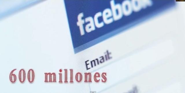 Facebook 600 Millones de usuarios.