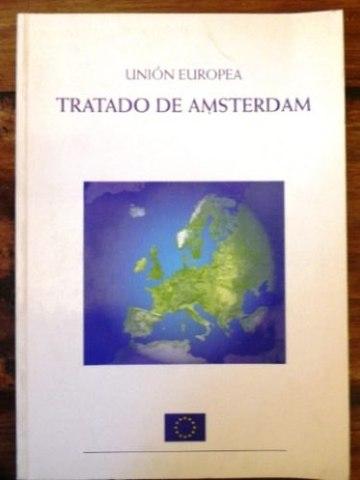 Firma del Tratado de Amsterdam