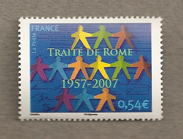 The Treaty of Rome a first step towards the common market