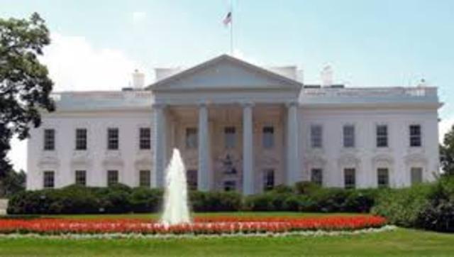Tour of white house on television