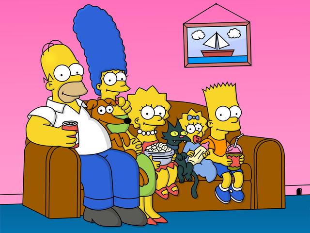 Simpsons surpasses Flintstones