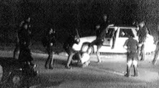 the beating of Rodney King