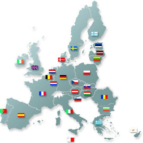 La Europa de los 25