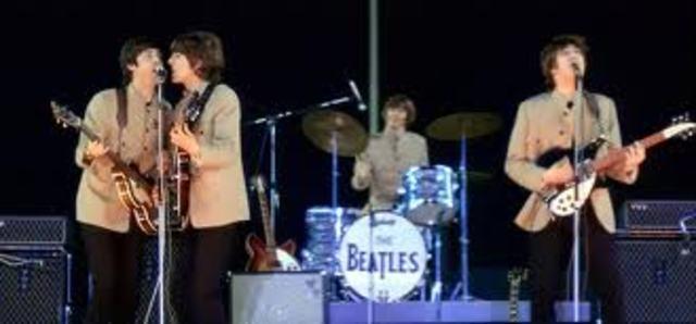 The Beatles in Shea Stadium