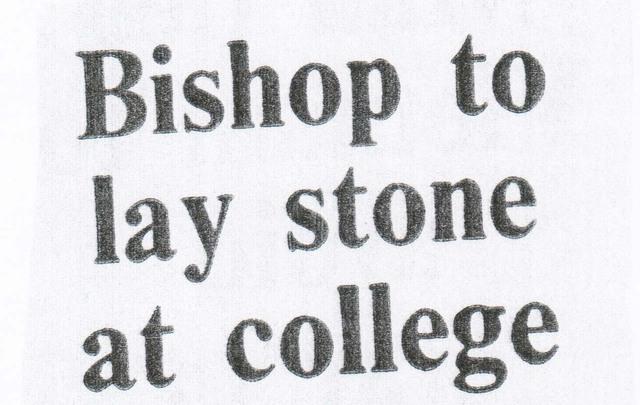 Foundation Stone Laid