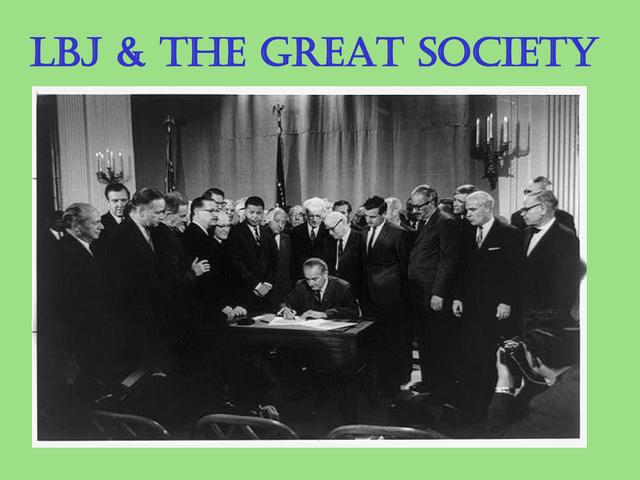 The GreatSociety