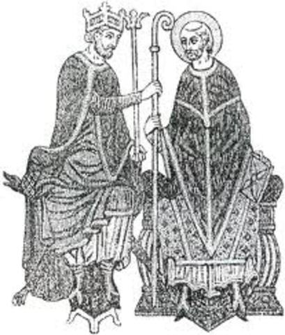 Gregory VII Forbids the Lay Investidure- Church