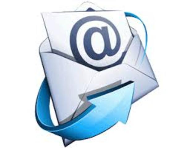 mi primera interacción con el correo electronico