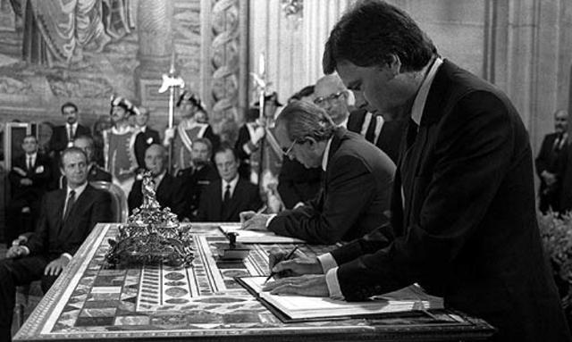 El Tratado de la Unión Europea entra en vigor