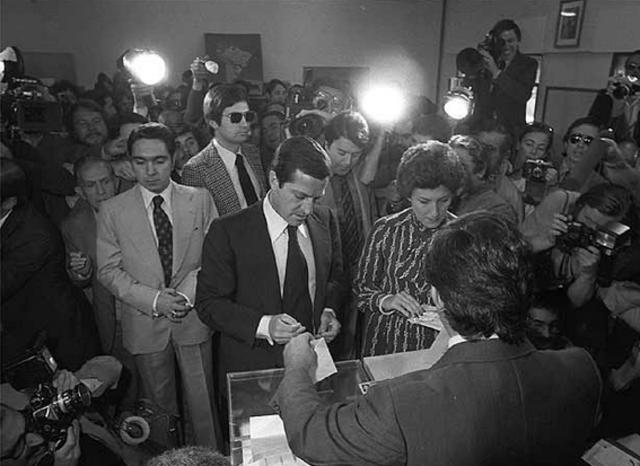 Las elecciones generales legislativas de España.