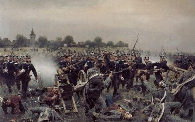 """Guerra Austria-Prusia. """"La Guerra de las Siete Semanas"""""""