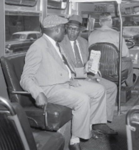 The Supreme Court Ruled Segregation on buses to be unconstitutional