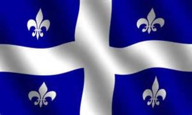 Quebec gets its own flag