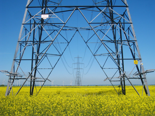 Almost all farms have electricity