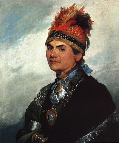 Joseph Brant is granted land in Upper Canada by Sir Frederick Halidmand (British commander in Quebec)