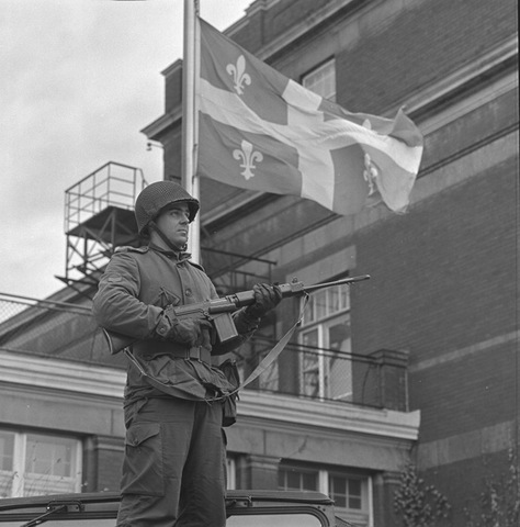 The October Crisis frightens Quebec
