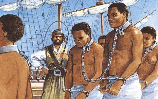 First slaves arrive in America