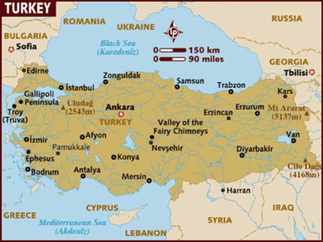 Turkey becomes secular