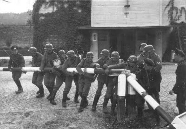Tropas Alemanas cruzan frontera de Luxemburgo