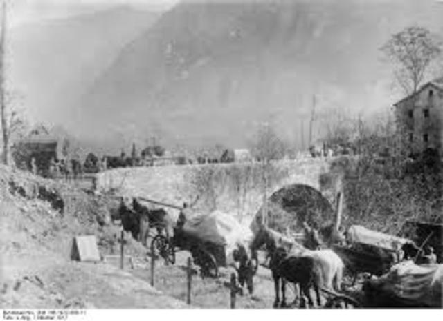 Italia le declara la guerra a Autro-Hungria