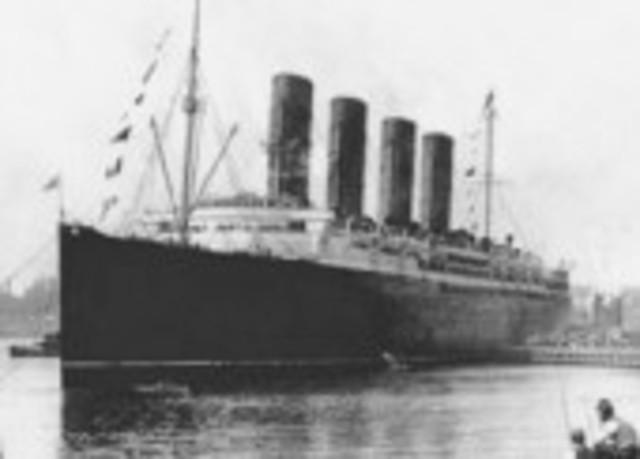 Hundimiento de la Lusitania