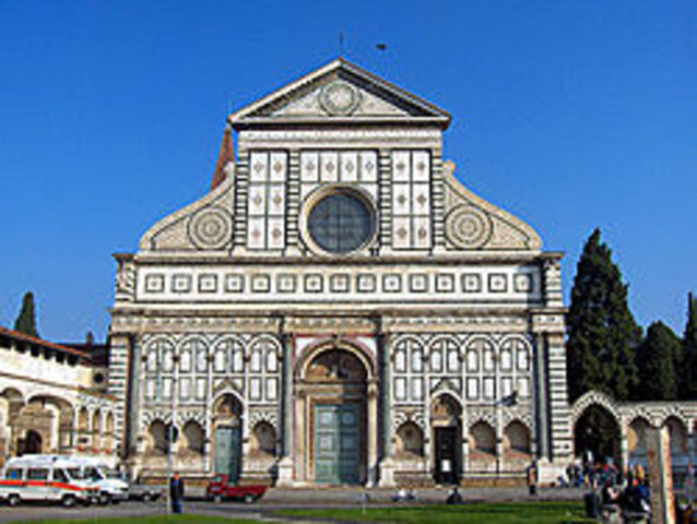 Santa Maria Novella by Leon Battista Alberti