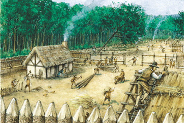 Rebuilding Forts Destroyed By Fire