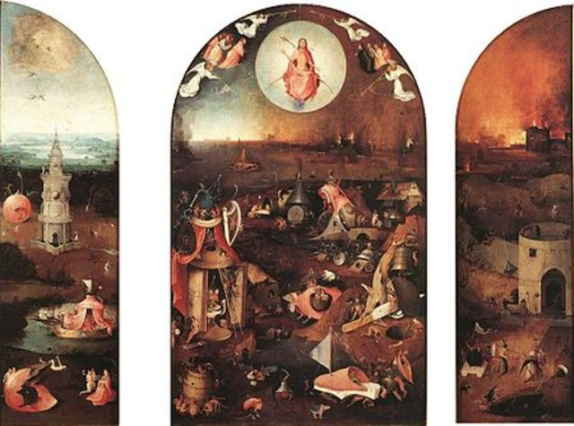The Last Judgment by Hironymus Bosch