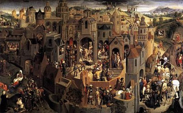 Scenes from the Passion of Christ by Hans Memling