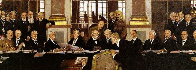 Paris Peace Conference & Treaty of Versailles