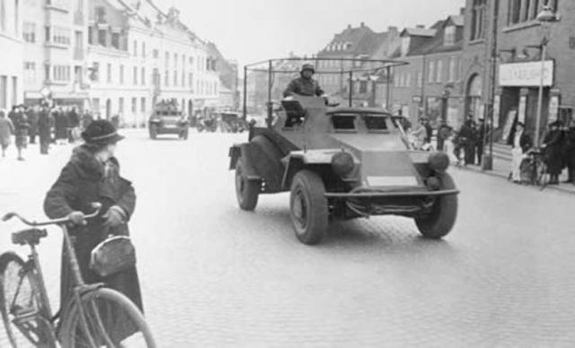 Invasión de Dinamarca y Noruega por Alemania
