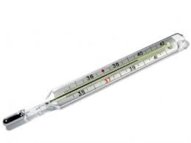Galileo invents the thermometer