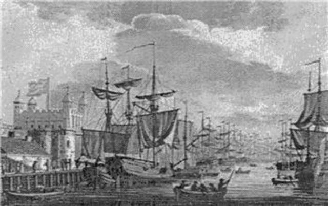 Beginning of the Colonial Immigration