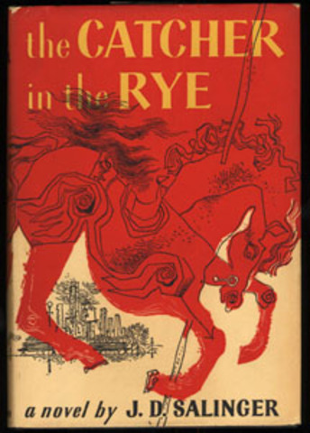 The Catcher in the Rye published