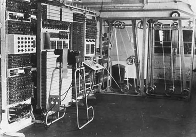Colossus y z1 computadoras de la II Guerra Mundial.