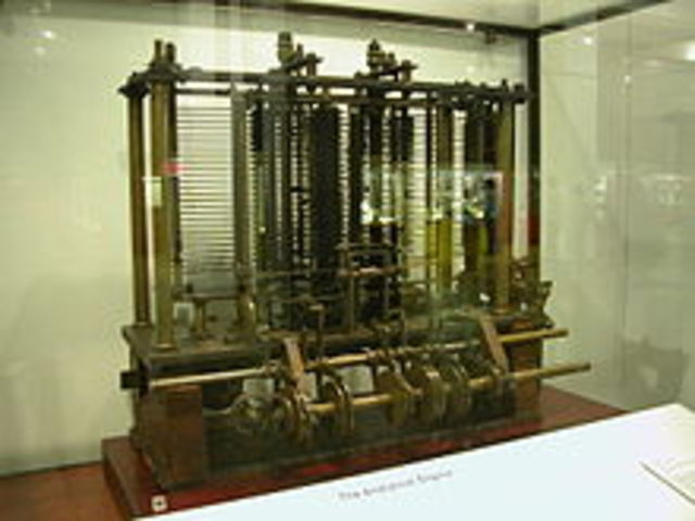 La primera computadora analítica