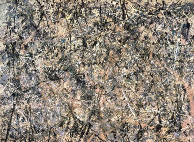 Lavender Mist Number 1 by Jackson Pollock