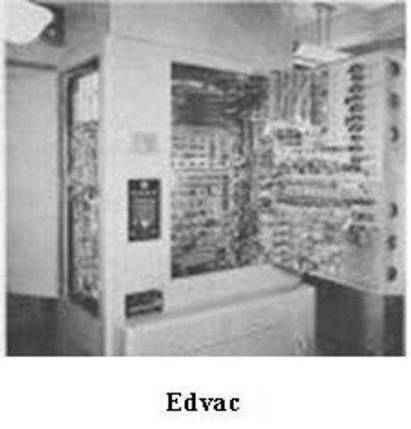 EDVAC sucedora de ENIAC y para fines de la empresa privada
