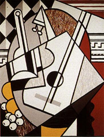 Cubist Still Life Roy Lichtenstein 1974