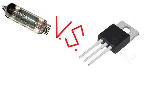 De Valvula al vacio a Transistor