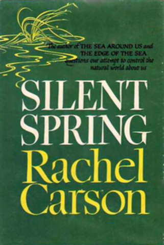 Rachel Carson's Silent Spring was published