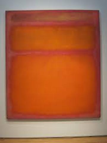 Orange, Red, Yellow by Mark Rothko