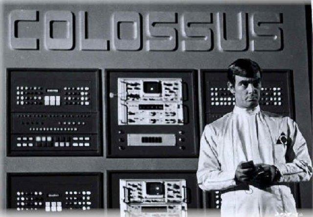 Contruyeron el Colossus, computador