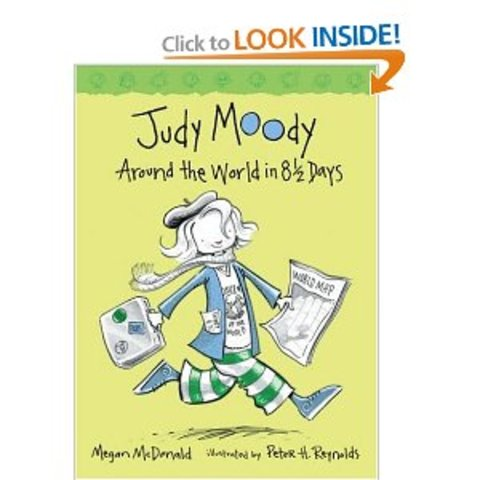 Judy Moody, Around the World in Eight  and a Half Days