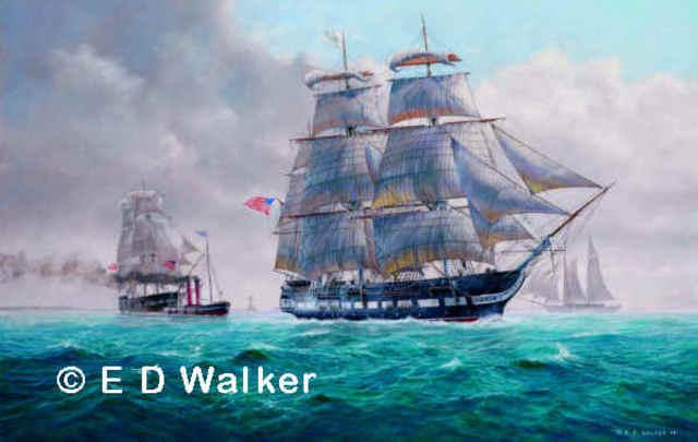 Ships Arrive At Jamestown