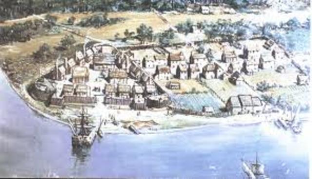 Settlement at Jamestown